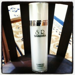 cleanser oily shadira