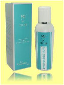 facial cleansing foam sabun gel untuk semua kulit felisa kosmetik