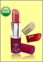 moist lipstick water shine felisa kosmetik