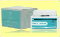 sunblock natural krim pelindung uv felisa kosmetik untuk kulit jerawat/sensitif