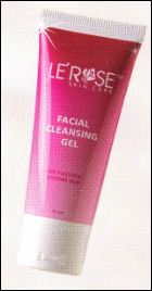 facial cleansing gel sabun le'rose