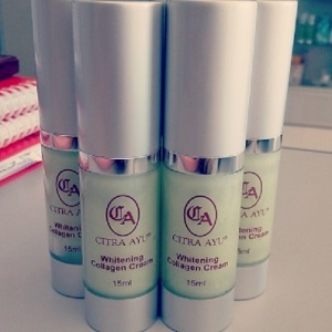 whitening collagen cream citra ayu original kelantan