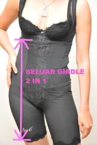 paras ukuran seluar girdle 2 in 1 ivy6