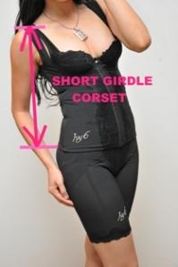 short girdle corset ivy6 terbaru