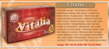 vitalia vida beauty original