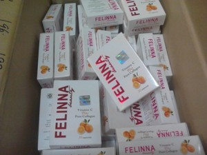 felinna vitamin c pure collagen original kelantan
