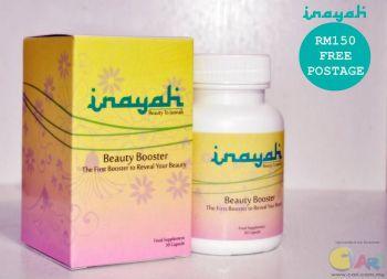 inayah beauty booster original kelantan